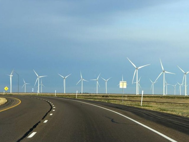 Historic winter storm freezes Texas wind turbines; millions without power
