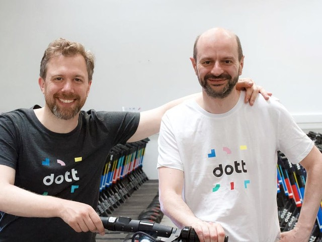 We got an exclusive look at the pitch deck e-scooter startup Dott used to raise $85 million