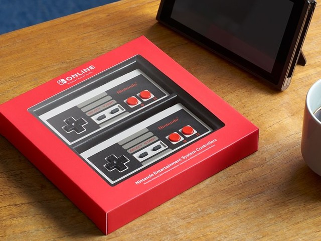 Nintendo is launching a dedicated wireless NES controller for the Switch
