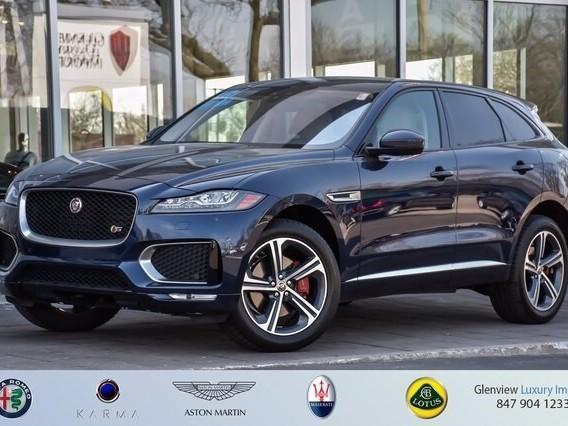 2018 Jaguar F-PACE--S