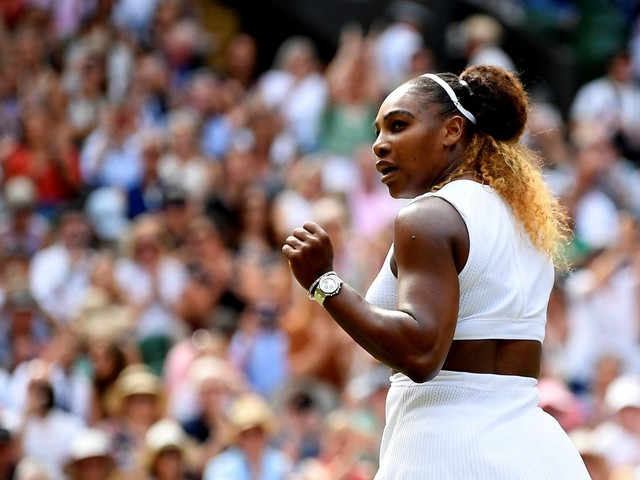Serena Williams cruises past Barbara Strycova in Wimbledon semifinals