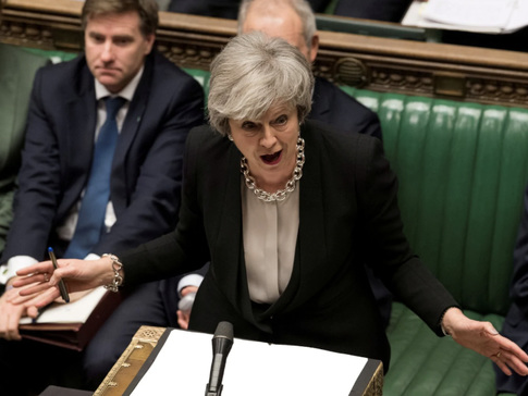 May Offers Brexiteers A Deal: 'Back The Withdrawal Agreement, And I Will Resign'