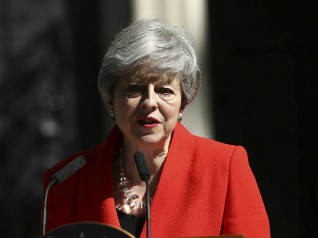 After Brexit failure, UK's May will quit as Conservative leader