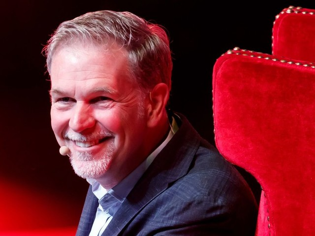 """Netflix Stock Falls After CEO Nods To """"Whole New World"""" Of Streaming Competition"""
