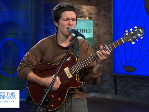 Watch Big Thief Perform On CBS This Morning