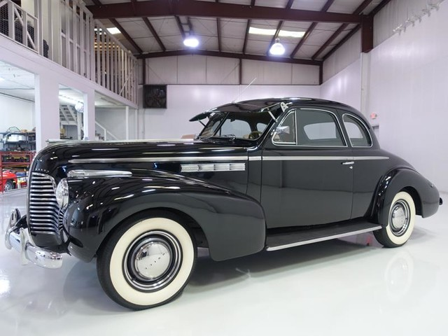 1940 Buick Special Sport Coupe