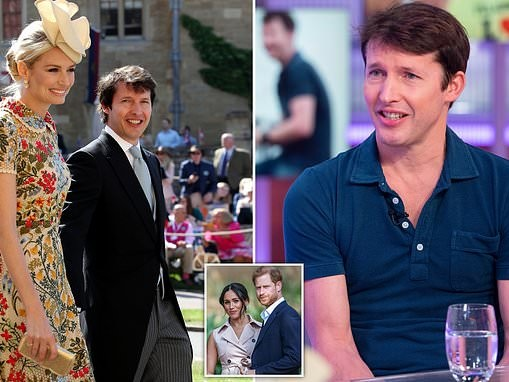 James Blunt says criticism of his old army friend Prince Harry is 'vitriolic'