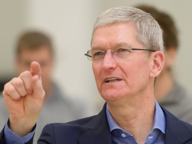 Apple CEO Tim Cook says privacy isn't a feature that should be built into products after the fact (AAPL)