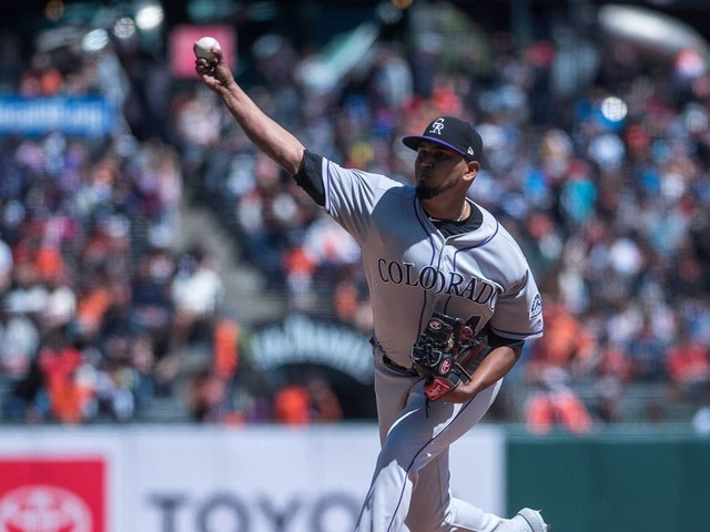 German Marquez loses no-hitter in 8th inning, settles for 1-hit shutout