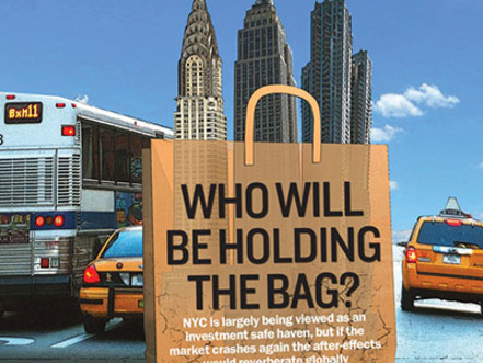 If the market crashes again, who will be holding the bag?