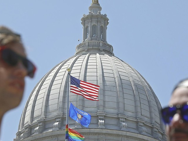 Transgender flag over over Iowa Capitol spurs GOP to seek limits