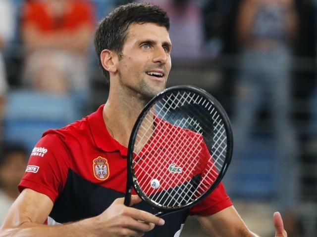 Novak Djokovic gives Daniil Medvedev the runaround as Serbia beat Russia to reach ATP Cup final (VIDEO)