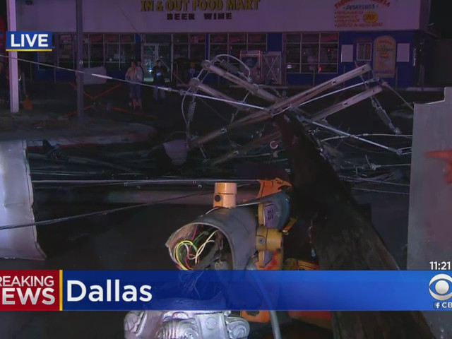 Police Searching Door-To-Door For Survivors, Watching For Looters After Dallas Tornado