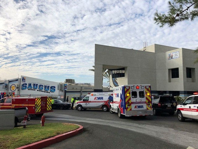 Saugus High School Shooting: Two Students Dead, One Critical, More Wounded North Of L.A.; Suspect In Grave Condition – Update