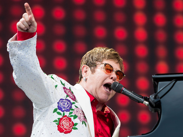 Elton John has a surprising amount of indie cred