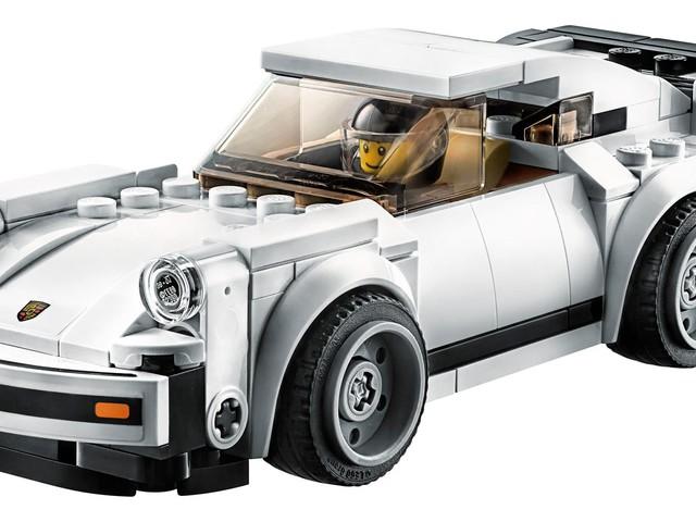 Lego Recreates The Iconic 1974 Porsche 911 Turbo 3.0