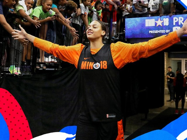 Why Liz Cambage's trade to the Aces is incredible for the WNBA