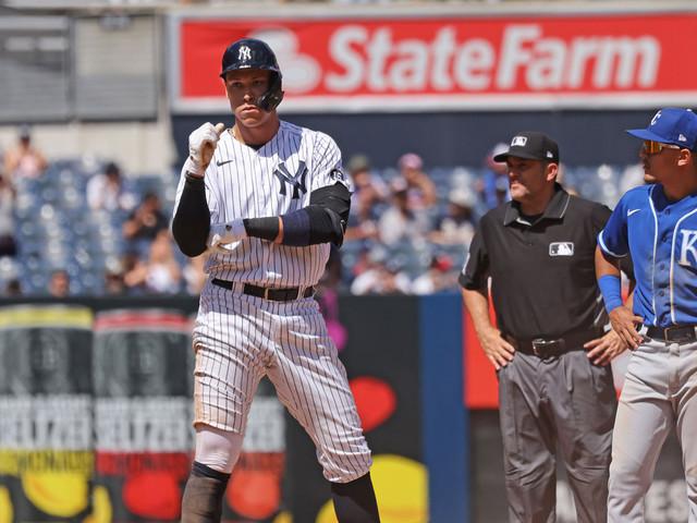 Yankees' Aaron Judge breaks out of mini-slump: 'Swinging underwater'