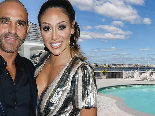 Melissa and Joey Gorga list their SEVEN bedroom vacation home on the Jersey Shore for $2.9m.