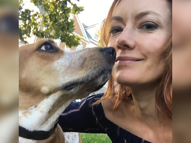 Woman Rescues Terrified Dog From A Testing Lab — And Now They're Inseparable