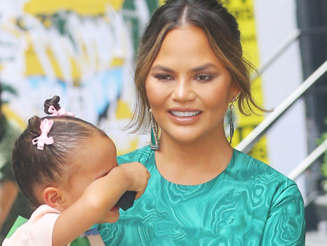 Chrissy Teigen Claps Back At Trolls: Accused Of Not Wearing Undies Around Her Daughter Luna, 3