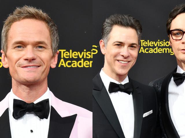 Neil Patrick Harris Joins Jim Parsons & Husband Todd Spiewak at Creative Arts Emmys 2019