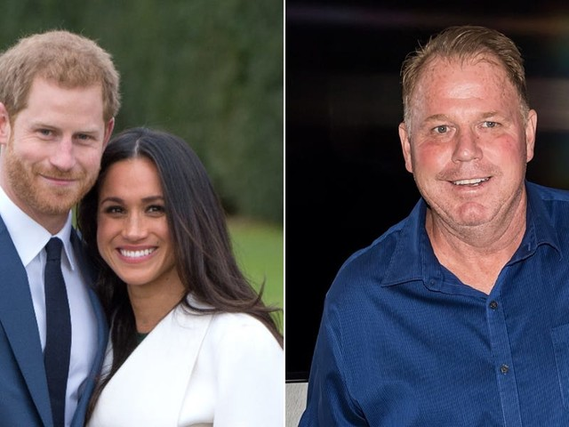 Meghan Markle's estranged brother says 'she is only in Buckingham Palace with Harry because of her dad' after he 'paid for her education and fancy clothes'