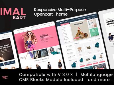 Minimal - Multi-purpose Responsive Opencart 3 Theme (OpenCart)