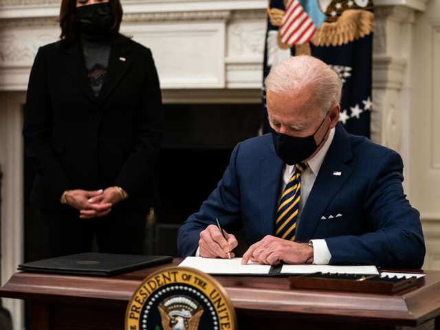Why Biden Can Undo Much of Trump's Legacy Via Executive Orders