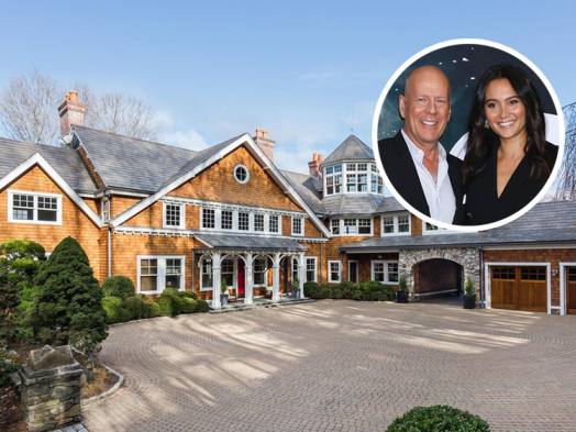 Bruce Willis and Emma Heming List Swank New York State Country Compound