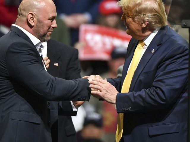 The UFC's complicated history as a platform for Trump's political ideology