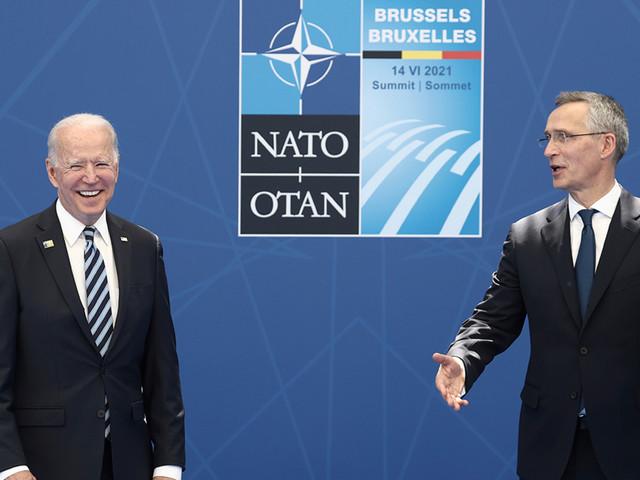 Biden reaffirms US 'sacred' commitment to NATO alliance on European trip
