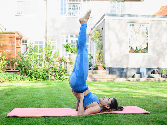 How to Do a Shoulder Stand: Salamba Sarvangasana for the People