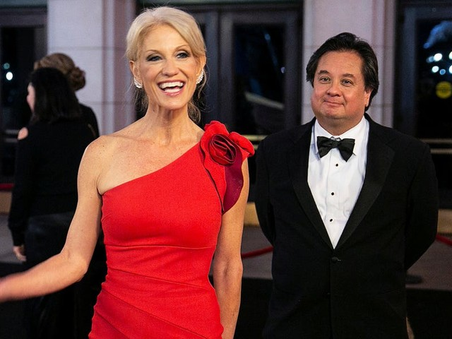 Inside the marriage of Kellyanne and George Conway, who are increasingly, publicly facing off over Trump