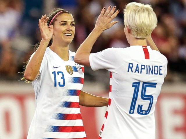 US soccer players speak out on equal pay suit: 'We're on the right side of this'