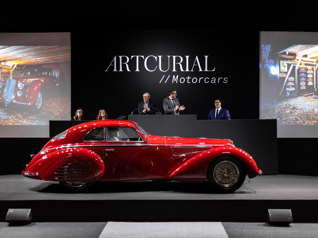 Artcurial Motorcars realized €42M/$47M at Rétromobile sale