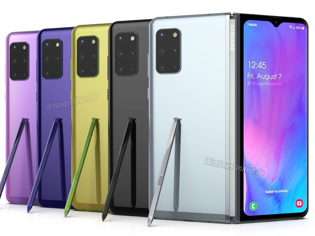 Galaxy Fold 2 fixes the problems of the original Fold in new renders