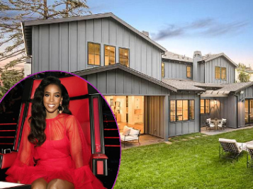 Fly Chick Kelly Rowland Cops A BOMB New Mansion In L.A. + Rumors That She Threatened To Walk Off 'The Voice Australia'!