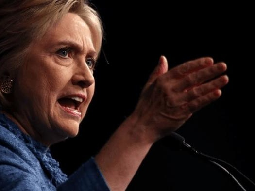Hillary Clinton Calls For Vaccine Mandate....In The UK
