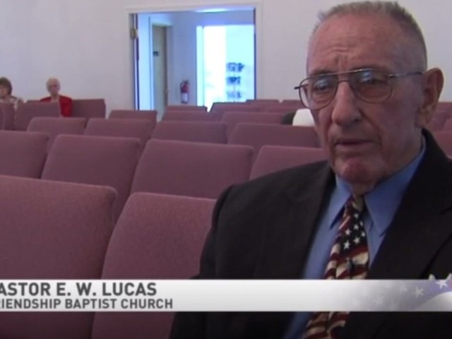 Church members stage walkout over pastor's 'America: Love It or Leave It' sign — and he says there have been death threats