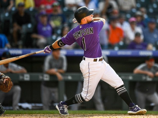 Rockies Roll Past Marlins, 7-6, With Hampson's Single In The 10th