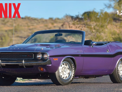 Mecum adds fourth day to Phoenix auction March 14-17, 2019
