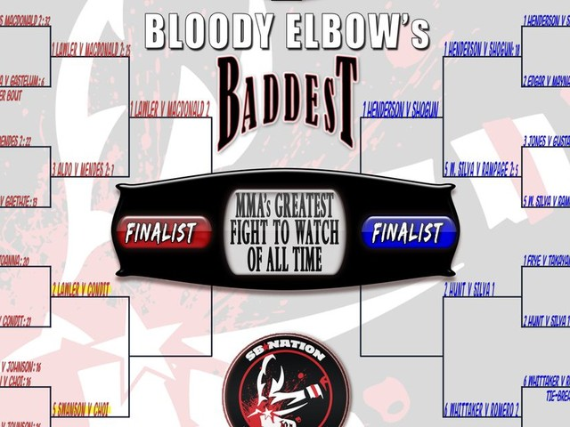 BE's Greatest MMA Fight of All Time Tournament - QUARTER FINALS: #2 Lawler vs. Condit VS. #5 Swanson vs. Choi