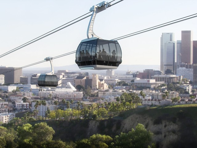 Gondolas From Union Station To Dodger Stadium One Step Closer To Becoming A Reality