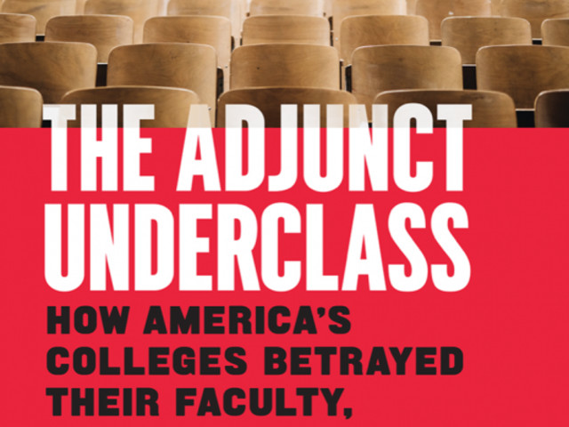 Herb Childress discusses his new book, 'The Adjunct Underclass'
