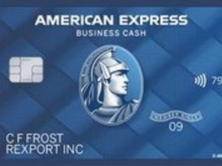 American Express Blue Business Cash Card: 2% Cash Back on First $50,000 in Purchases, No Annual Fee