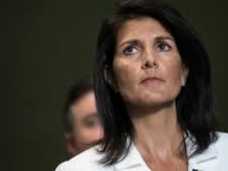 """Haley: US Will Use Military In North Korea """"If It Must"""""""