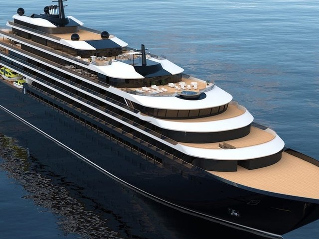 Ritz-Carlton's first-ever yacht — a luxury cruise ship for the '1% of global travelers' — is reportedly delayed and millions over budget. Here's a closer look at the planned design.