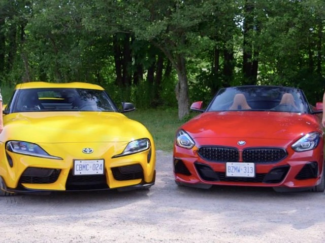 Toyota Supra Vs. BMW Z4 M40i Comparison Tries To Settle The Discussion For Good