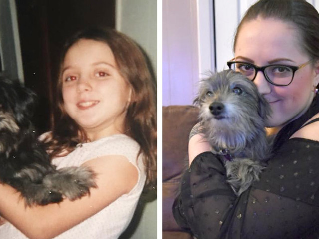 Woman Adopts A Senior Dog — Then Realizes It's Her First Best Friend